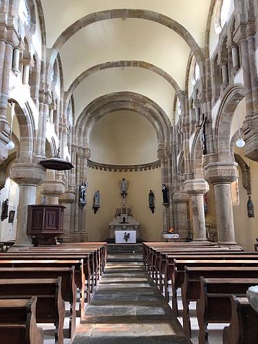 Saint-Martin-de-Salencey : intérieur