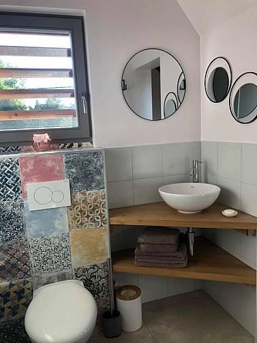 Sous les plumes - salle de bain
