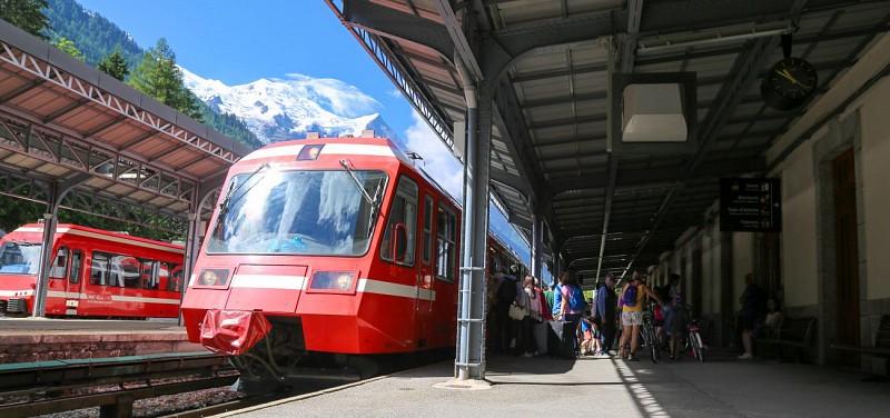 SNCF Bahnhof Chamonix