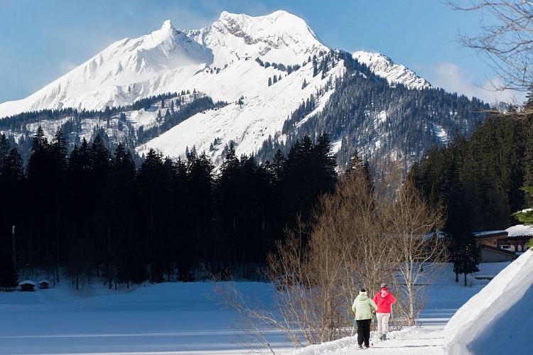 Itinéraire du Lac de Montriond