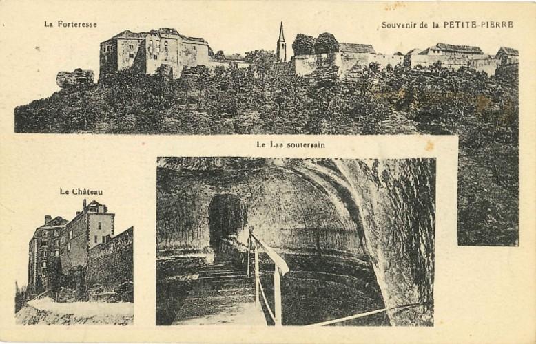 Les citernes du château