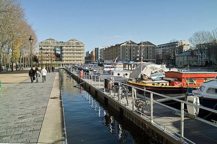 Bassin de la Villette et le Port