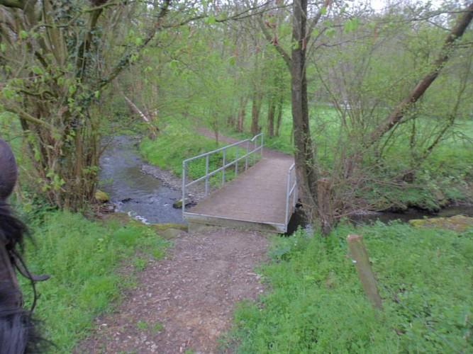 Un pont sur la Berwinne