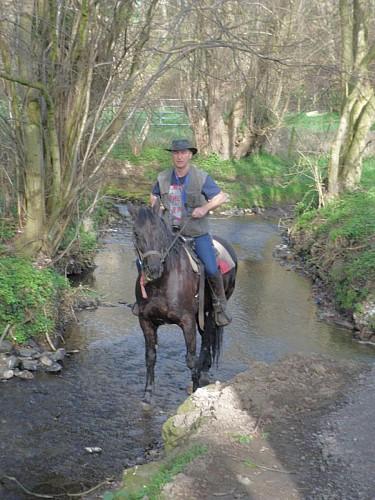 Le ruisseau au lieu-dit Bouquaimoulin