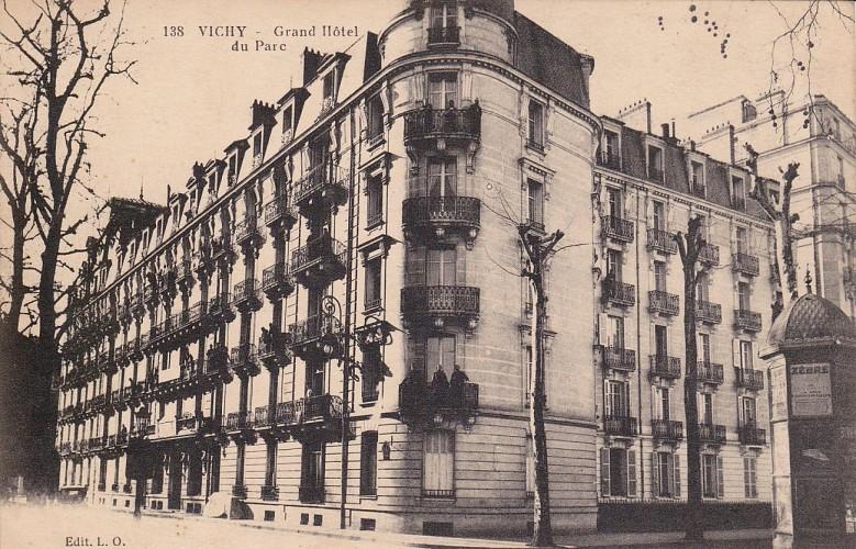 Hôtel du Parc, 23 rue du Parc
