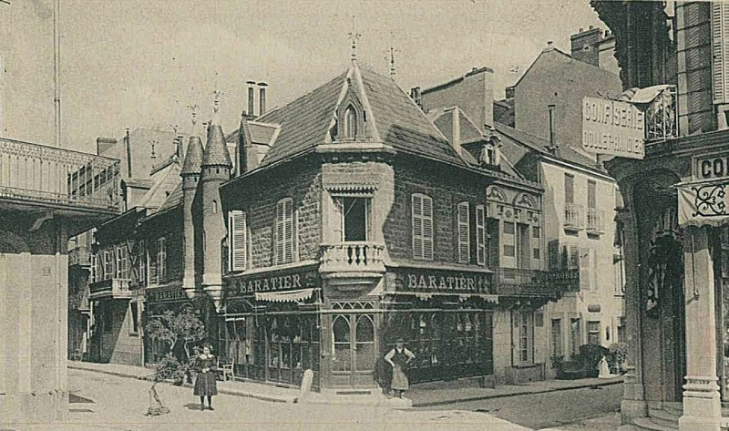 Maison natale d'Albert Londres, Rue Besse