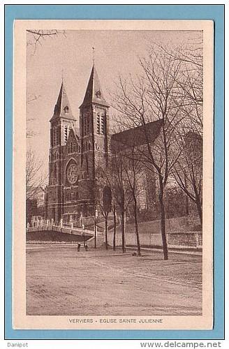 Eglise Sainte-Julienne et le quartier des Boulevards