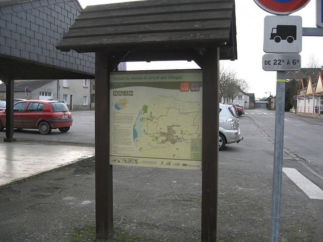 Départ Parking Fernand Sastre