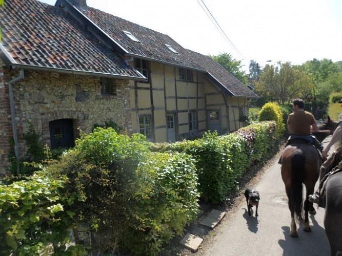 Hameau de Veurs : La petite Alsace