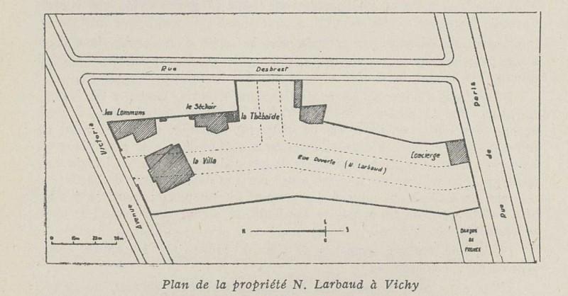 Rue Nicolas Larbaud-Saint-Yorre, 26 avenue Victoria