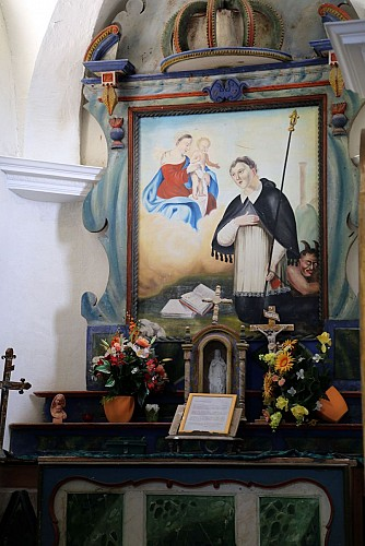 Le Hameau de la Jairaz et sa chapelle
