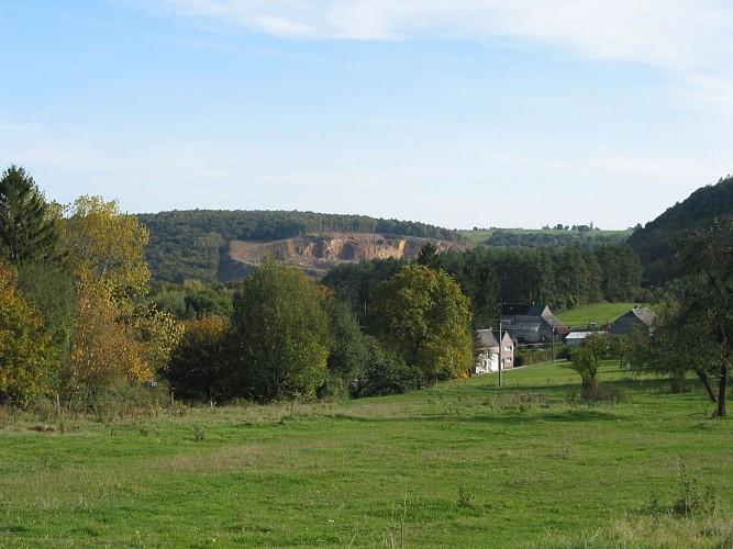 Hameau et plateau de Tricointe
