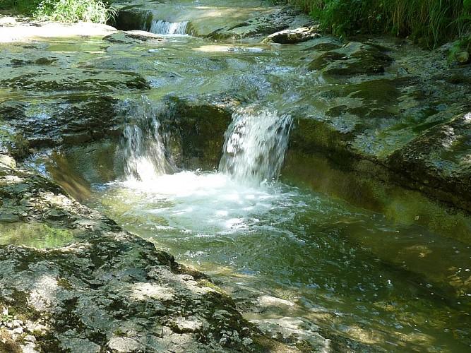 Descendre vers le ruisseau