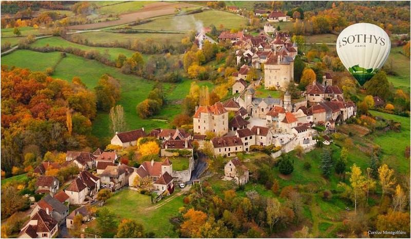 SARL Corrèze Montgolfière