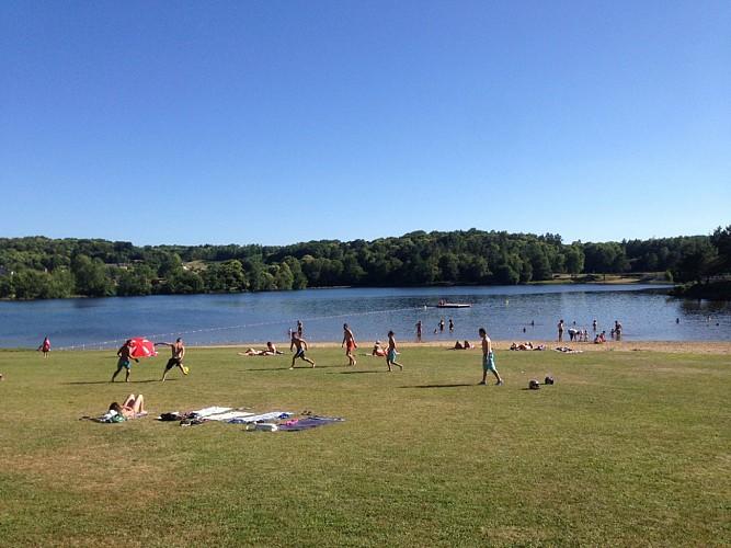 Le Coiroux lake