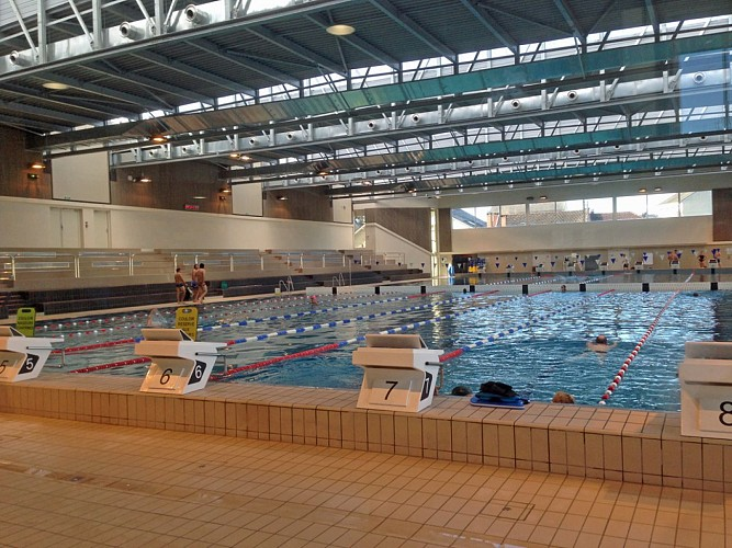 Brive's pool and aquatics centre