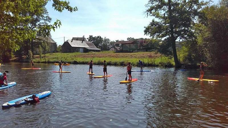 Canoe-kayak and rafting Lombertie Leisure Centre