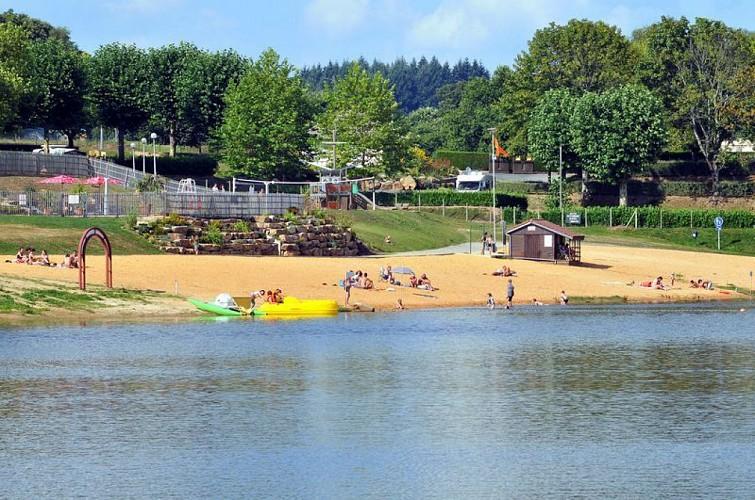 Plan d'eau de Saint-Yrieix-la-Perche