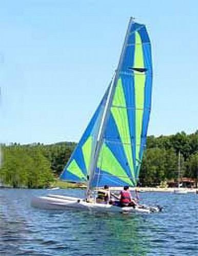 Lake of Saint-Pardoux - Outdoors activities