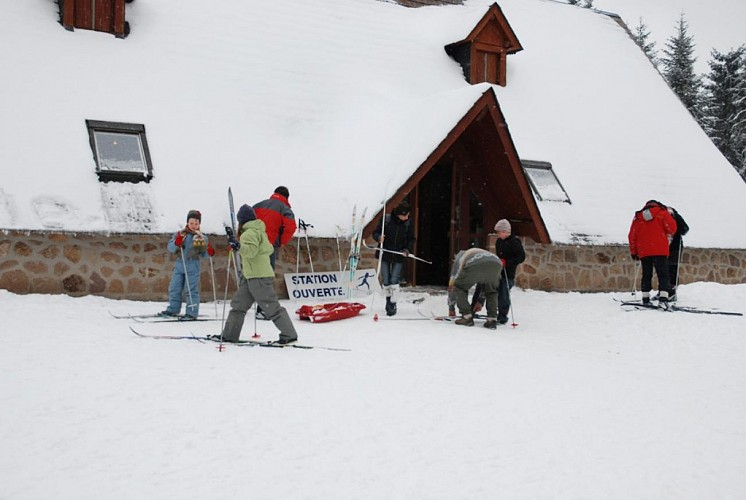 Saint-Setiers cross-country skiing resort