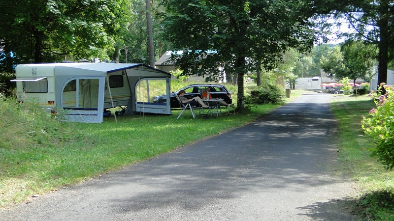 "Campsite ""The Pont-Aubert"""" motorhome site"