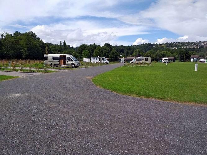Aire d'accueil de camping-cars de Donzenac