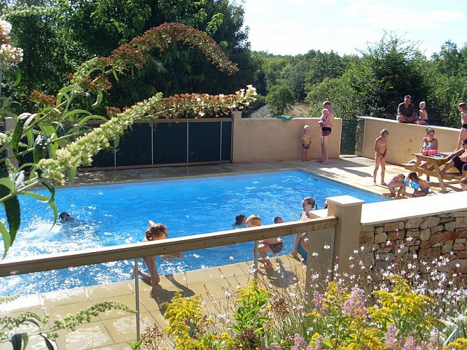 Camping la Magaudie (19 - Chartrier Ferrière)