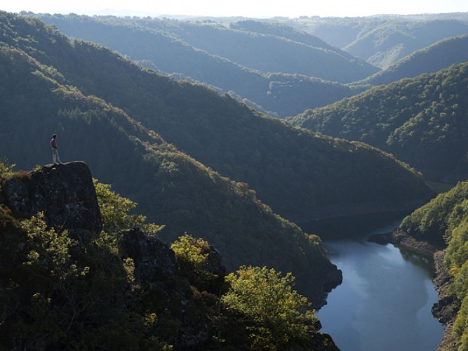 Les gorges de la Dordogne (Neuvic)
