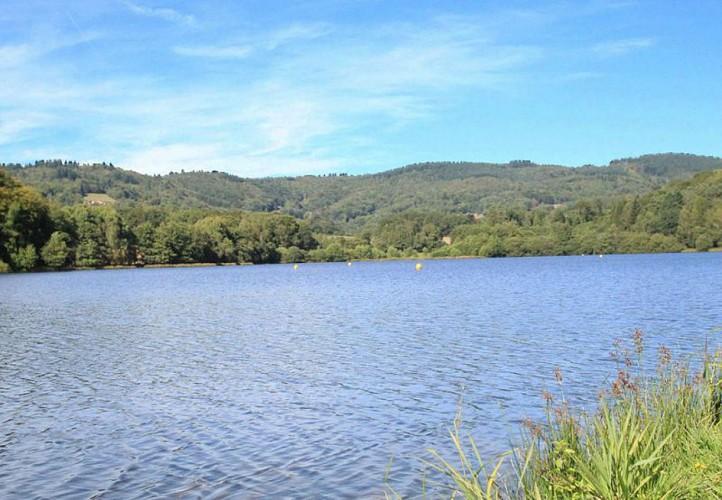 Plan d'eau de Jonas à Ambazac