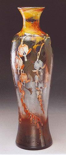 Voor Val-saint-Lambert vervaardigde vaas, 1906-1907 / Vase réalisé pour le Val-Saint-Lambert, 1906-1907