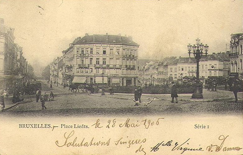 Place Liedts 1905