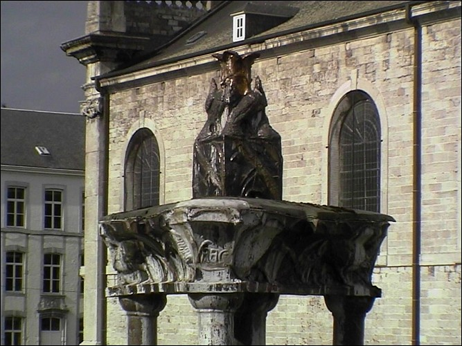 The Pheasant fountain (Andenne)