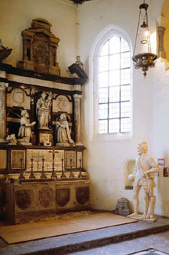 The funerary chapel of the lords of Boussu