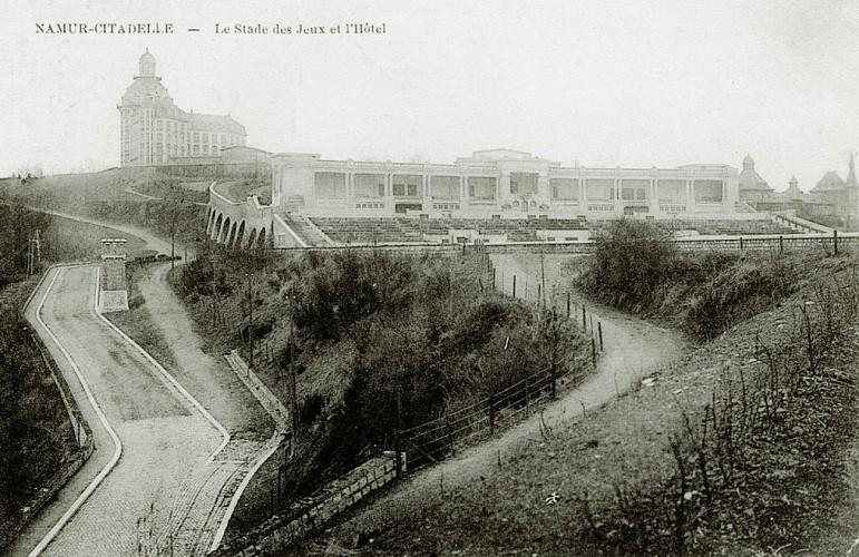 Stade des Jeux et l'Hôtel (1915)