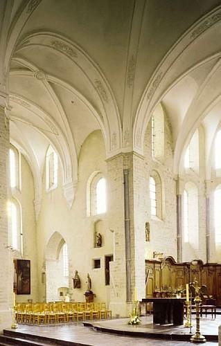 Die Kirche Saint-Médard