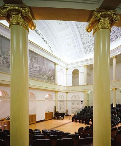 La salle académique de l'Université de Liège