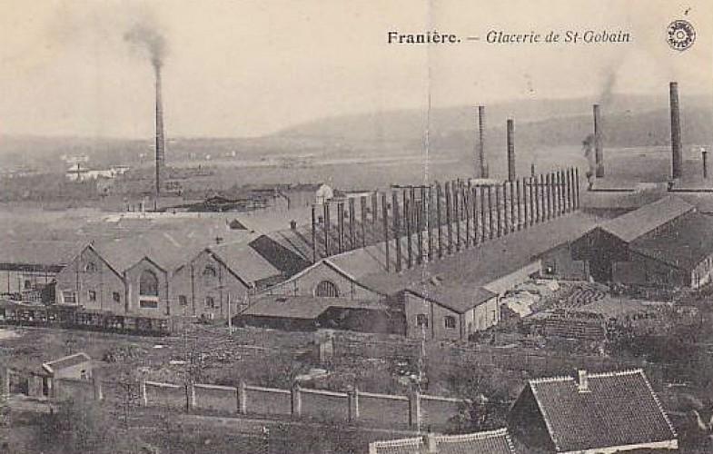 Glacerie St Gobain, Franière