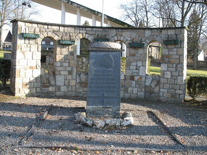 Monument 3 et 6èmes Chasseurs Ardennais