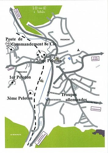Combats à Vielsalm 10 mai 1940