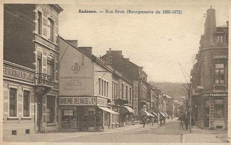 Rue Brun, Andenne