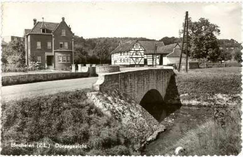 Mechelen richting Hoeve de Plei 1961