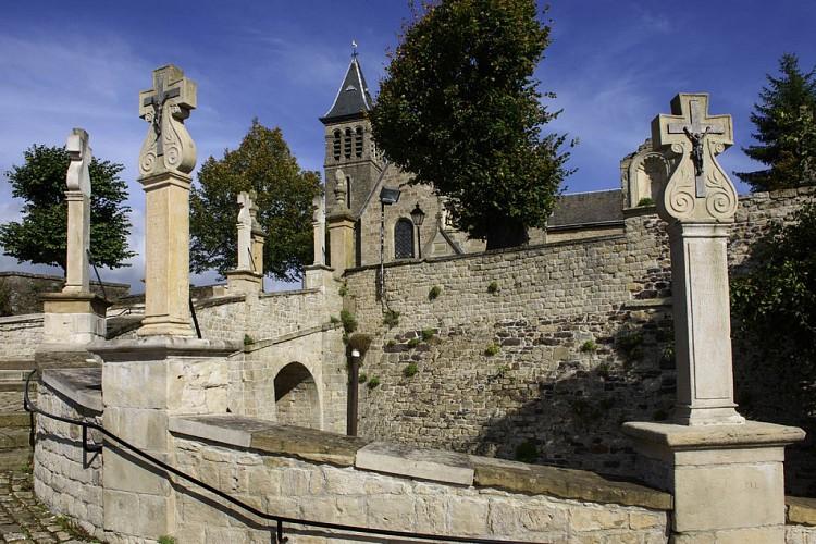 La montée royale vers Saint-Donat