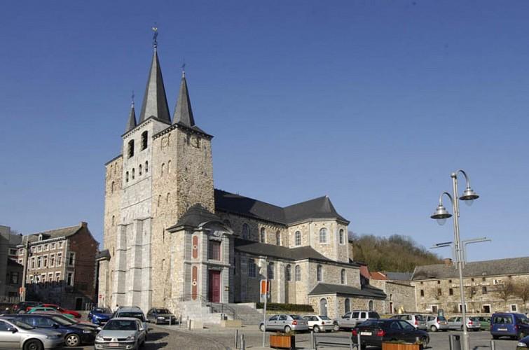 The collegiate church of Saint-Georges-et-Sainte-Ode