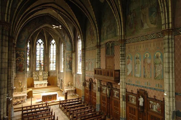 La collégiale Saint-Martin-et-Saint-Hadelin