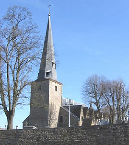 The church of St Sébastien