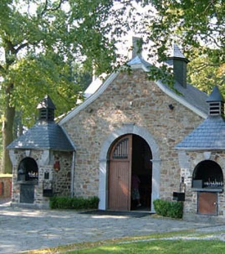 La chapelle sanctuaire du Vieux Bon Dieu