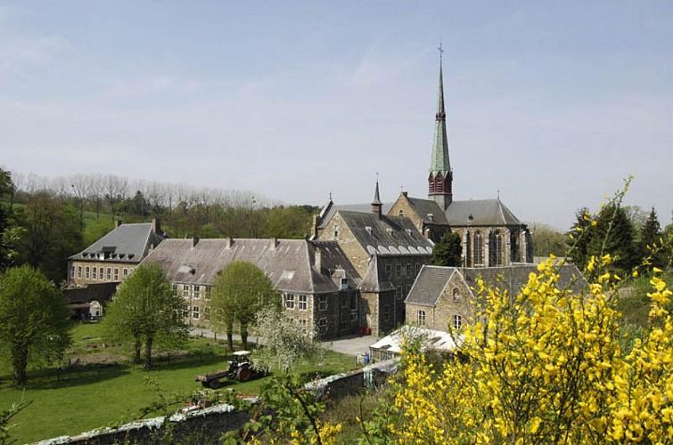 L'abbatiale Notre-Dame du Val-Dieu