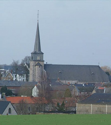 The church of Saints-Michel-et-Rolende
