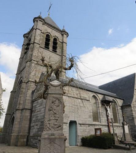 The church of Saint-Vaast