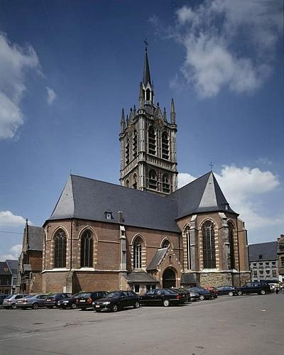 The church of St Nicolas-de-Myre